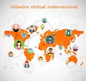 numero virtual internacional
