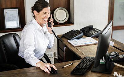 ¿Cómo atender las llamadas sin la necesidad de un secretario?