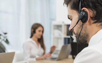 Facilita la gestión del servicio de atención al cliente gracias a un call center