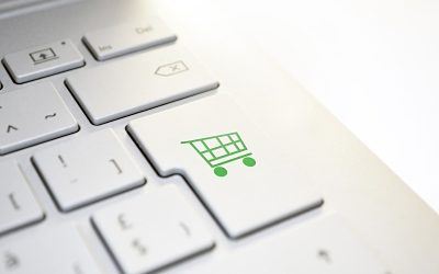 Clicking on a button for improving customer service in e-commerce