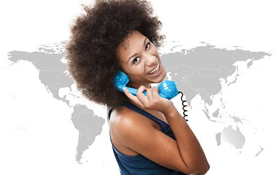 How to call abroad using an international phone number