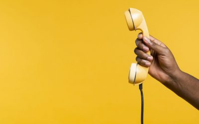 When should I set up an options menu for my incoming calls?