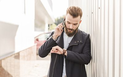 Music on hold on the PBX so your customers don't leave
