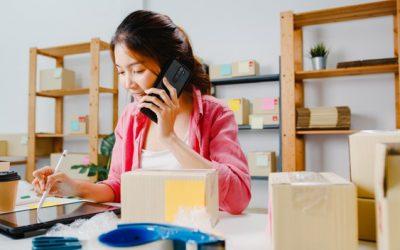 Où puis-je recevoir les appels de mon entreprise ?