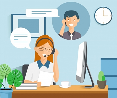 fondo-moderno-call-center-estilo-flat
