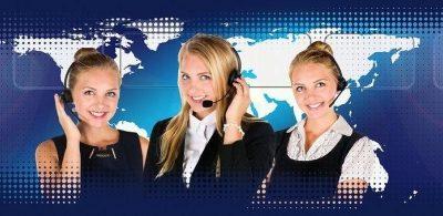 Un call center disponible à une échelle globale