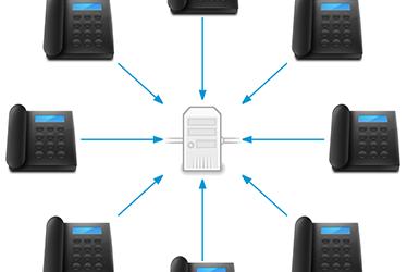 Gérez votre standard téléphonique d'entreprise via  internet