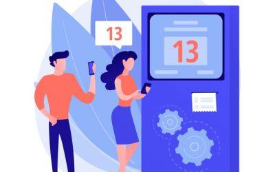 Fonctionnalités d'une file d'attente sur le standard téléphonique virtuel