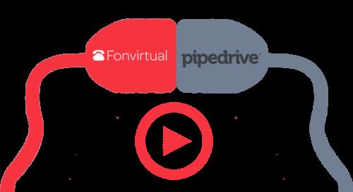 Integración CTI con <b>Pipedrive</b>
